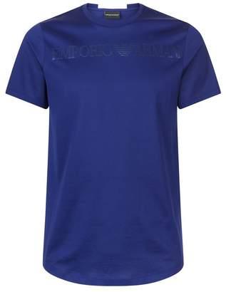 Emporio Armani Satin Logo T-Shirt