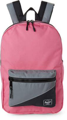 Herschel Pink & Gray Reflective Settlement Mid Backpack