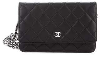 Chanel 2016 Quilted Wallet On Chain