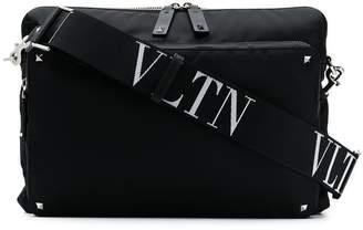 Valentino Rockstud logo messenger bag