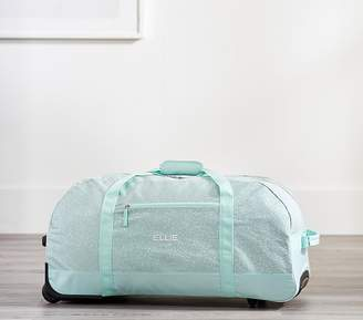 Pottery Barn Kids Mackenzie Aqua Glitter Backpacks