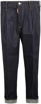 DSQUARED2 High-waisted Tapered Jeans