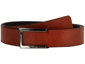 Tumi T Buckle Leather Reversible Belt