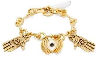 Chloé Eye And Hand Charm Bracelet - Womens - Gold