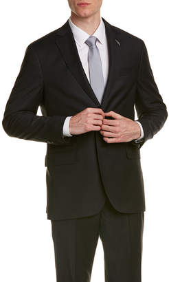 Michael Bastian Gray Label Wool Suit With Flat Front Pant