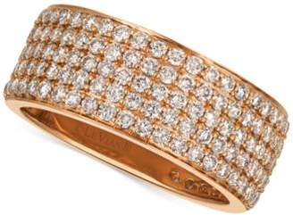 LeVian Le Vian® Strawberry & NudeTM Diamond Band (1-7/8 ct. t.w.) in 14k Gold or Rose Gold