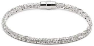 Durrah Jewelry - Silver Woven Bracelet For Her