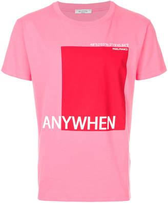 Valentino Printed cotton t-shirt