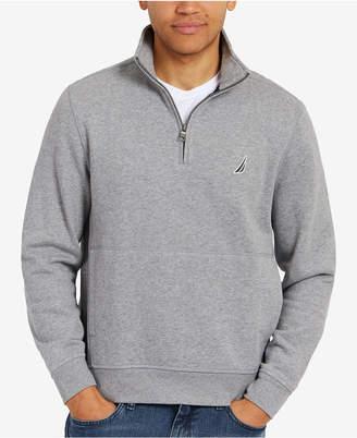 Nautica Men's Quarter-Zip Fleece Pullover