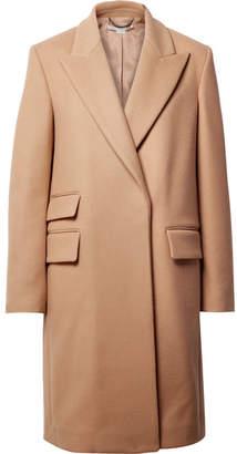 Stella McCartney Melton Wool-blend Coat