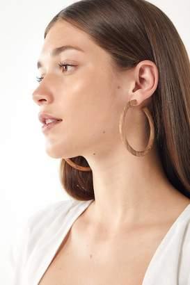 Soko Arlie Wood Hoop Earring
