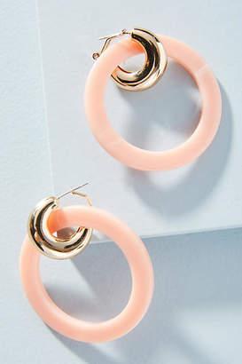 Chloé Reliquia Jewellery Hooped Drop Earrings