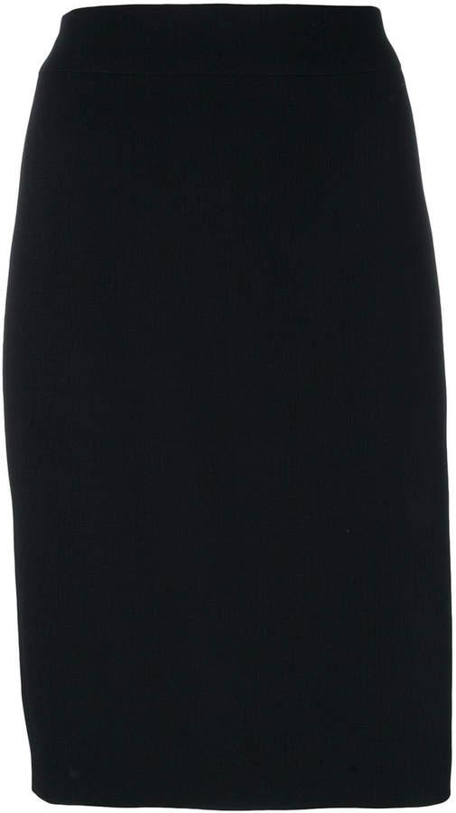 Armani Collezioni knitted pencil skirt