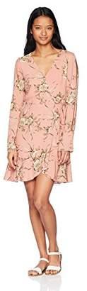 LIRA Women's Marrow Floral Wrap Dress