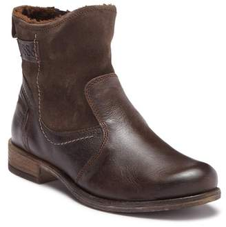 Josef Seibel Sienna Leather Faux Fur Lined Boot