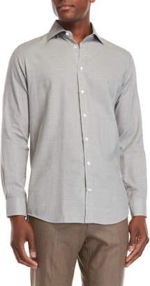 Luciano Barbera Glen Plaid Sport Shirt