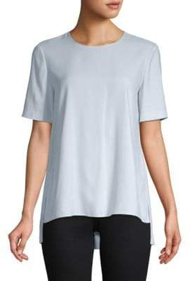 ADAM by Adam Lippes Short-Sleeve Hi-Lo Tee