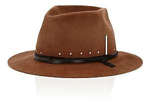 Nick Fouquet Men's The Maritime Fur Felt Fedora-Rust