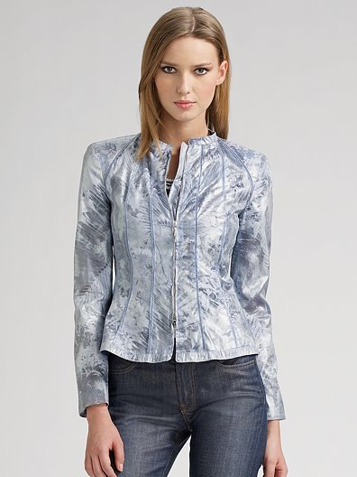 Armani Collezioni Stamped Abstract Jacket