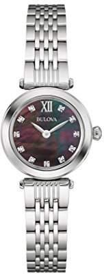 Bulova Women's Quartz Stainless Steel Dress Watch (Model: 96P169)