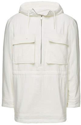 Jil Sander Roviano Silk Over-Head Jacket