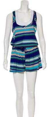 Missoni Mare Sleeveless Romper Cover-Up