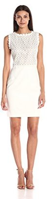 Ivanka Trump Women's Lace-Bodice Dress $70.46 thestylecure.com