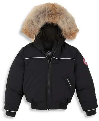 3a97d6f961d3 Canada Goose Boys  Grizzly Bomber Jacket - Little Kid