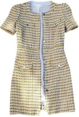Maje SS19 Yellow Cotton Dress for Women