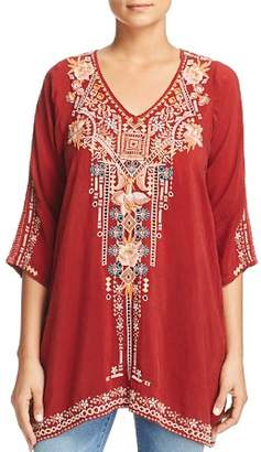 Johnny Was Collection Mikaela Embroidered Tunic