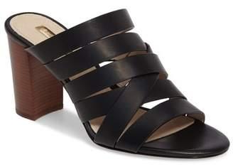 Louise et Cie Kalika Leather High Heel Mule