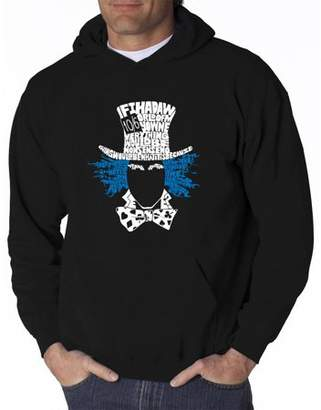 Pop Culture Men's hooded sweatshirt - the mad hatter