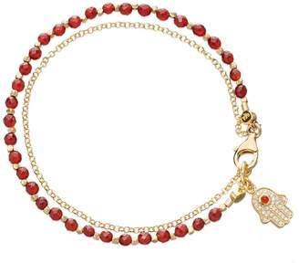 Astley Clarke Agate Hamsa Biography Bracelet
