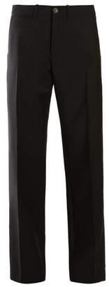 Loewe Straight Leg Trousers - Womens - Black