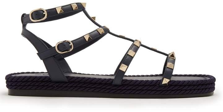 Valentino Torchon Rockstud leather sandals