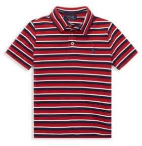 Ralph Lauren Little Boy's& Boy's Stripe Polo