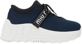 Miu Miu Platform sock trainers