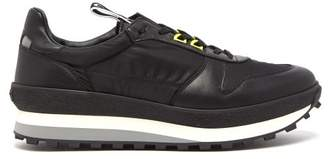 Givenchy Tr3 Low Top Leather Trainers - Mens - Black