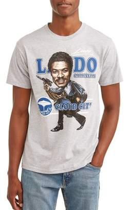 Star Wars Movies & TV Big Head Lando Men's Graphic T-shirt