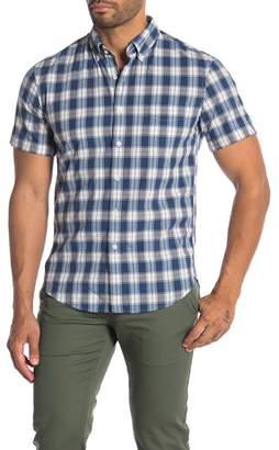cbbed035 J.Crew J. Crew Short Sleeve Woven Print Shirt