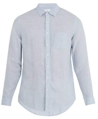 Onia Abe point-collar linen shirt