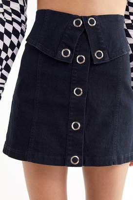 Finders Keepers Soundcheck Denim Mini Skirt