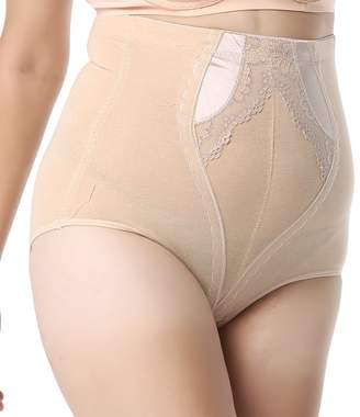 a5d23e66f9529 Queenral Women  s Plus Size Control Top Underwear High Waisted Shapewear  Panties