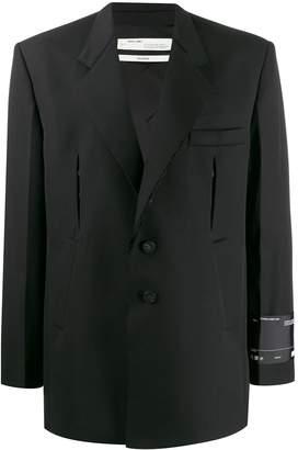 Off-White oversized single-breasted blazer