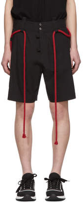 Craig Green Black Rope Shorts
