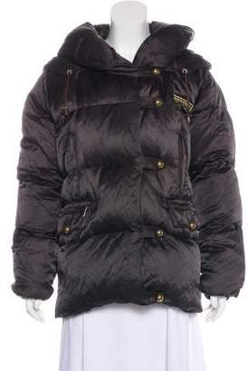 Sonia Rykiel Hooded Down Jacket