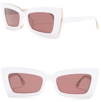 Le Specs Zaap 53mm Retro Cat Eye Sunglasses