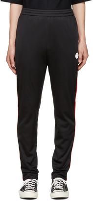 MSGM Black Striped Track Pants $280 thestylecure.com