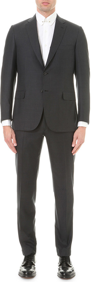 Brioni Brioni Super 160s wool suit