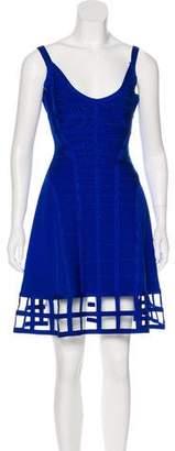 Herve Leger Viviene Cutout Dress